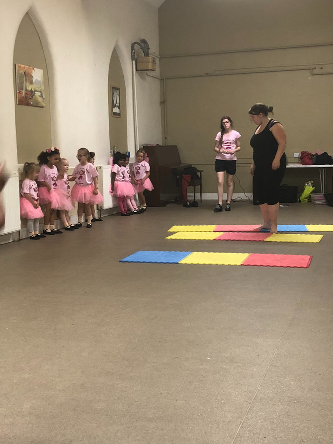 Five ways a dance class prepares your child for nursery