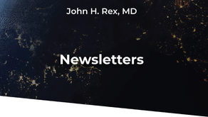 AMR Solutions Newsletter | John H. Rex, MD