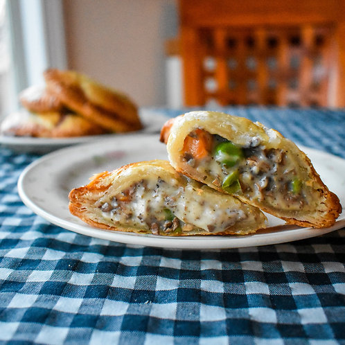 Mushroom Mornay Pocket Pies (Veg)