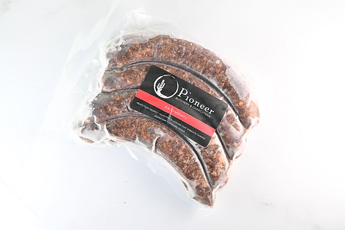 Elk Cranberry Sausage