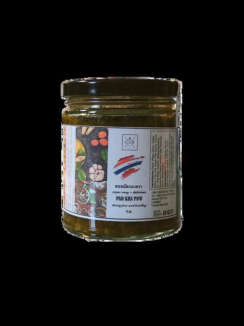 Pad Kra Prow sauce