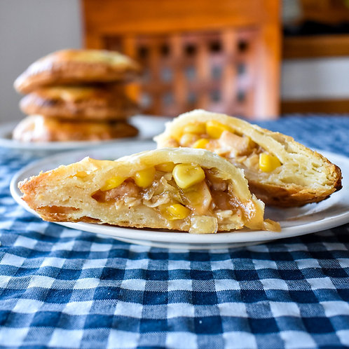 Honey Garlic Chicken Pocket Pies