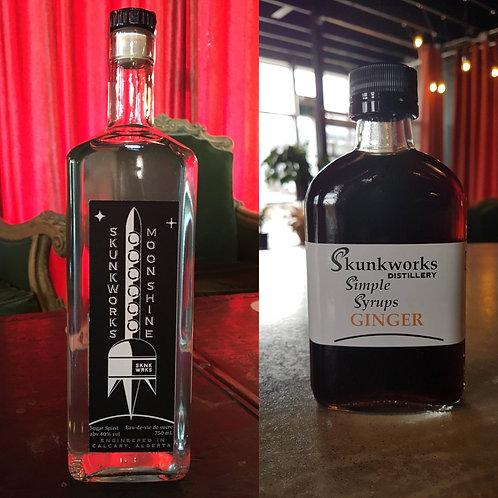 Moonshine & Ginger Syrup