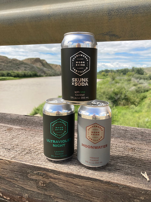 Canned Cocktail Soda Variety Pack
