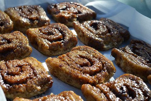 Baked & Frozen Gluten Free Cinnamon Buns (Half Dozen)