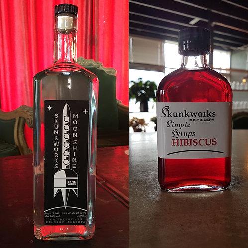 Moonshine & Hibiscus Syrup