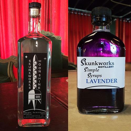 Moonshine & Lavender Syrup