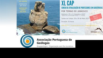 Oferta formativa da Associação de Geólogos
