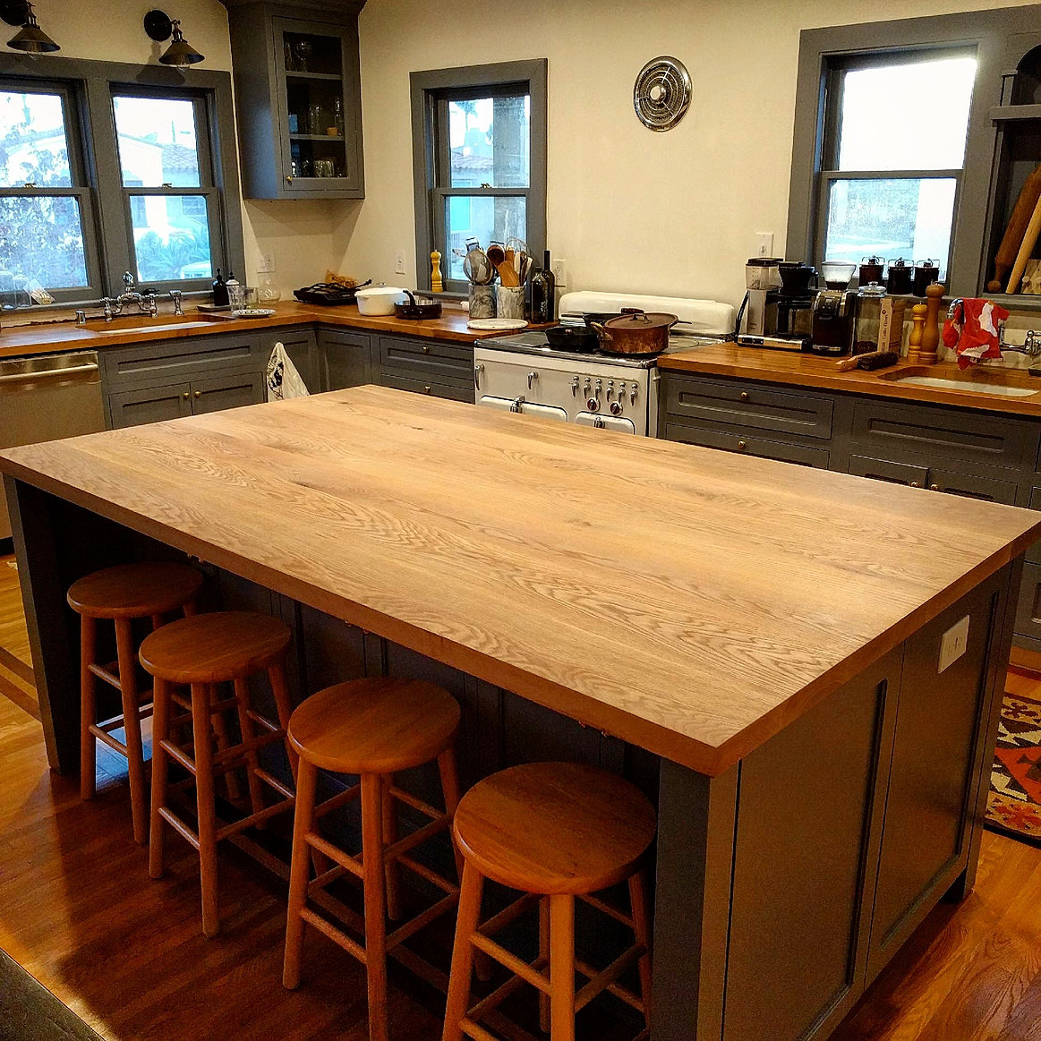 top thick wood countertops tops island wide block grain butcher best maple counter edge countertop boos