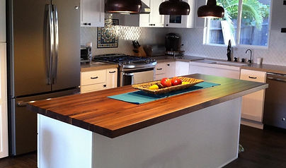Walnut Kitchen Countertop Swain Customs