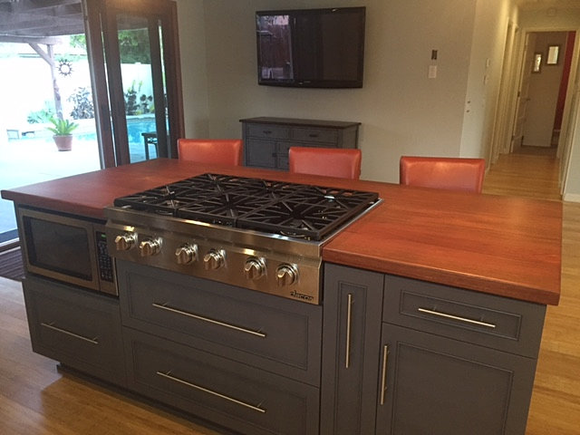 Wood Countertop San Diego