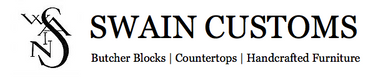 Swain Customs Logo - Butcher Bloks, Wood Countertops, Handcrafted Furnitue