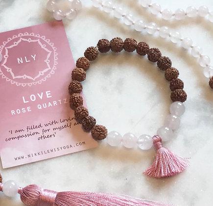 LOVE mala bracelet