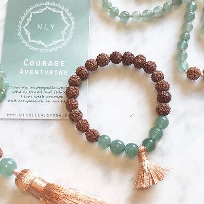 COURAGE mala bracelet