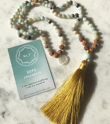 HOPE 108 Amazonite Mala bead
