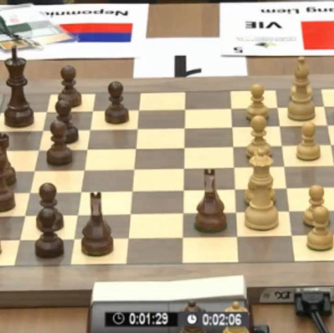 Liem vs Nepomniachtchi - World Blitz 2013