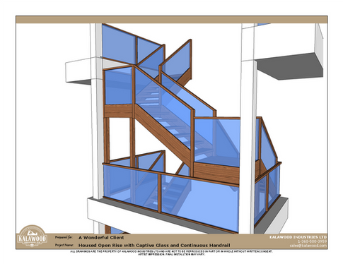 Housed Open Rise with Captive Glass and Continuous Handrail_2
