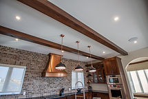 Solid Wood Faux Beams