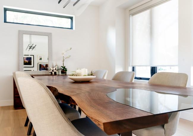 Walnut Slab Table with Inset Glass (2).J