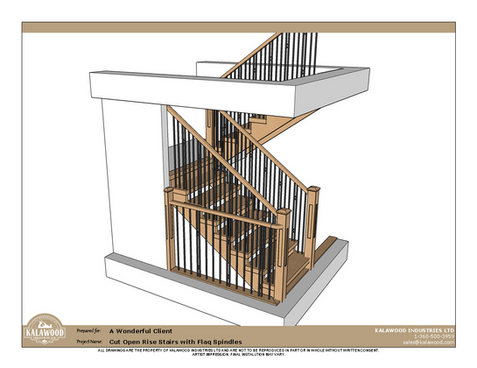 Cut Open Rise Stairs with Flag Spindles_1