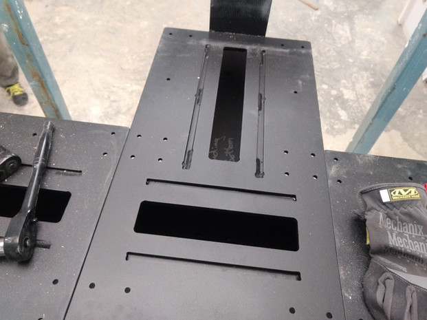 Double Steel Mono Stringer with Butcher Block Treads and Glass on Standoffs_4