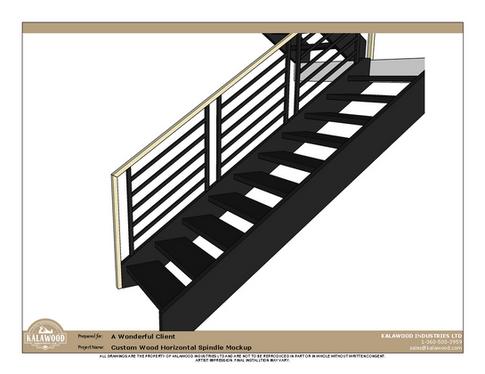 Custom Wood Horizontal Spindle_3