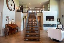 Steel Mono Stringer Staircase
