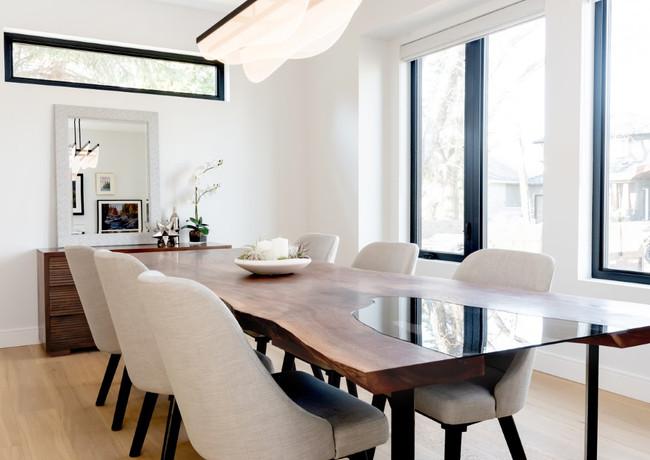 Walnut Slab Table with Inset Glass (3).J