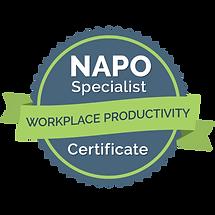 Workplace Productivity Specialist Certif