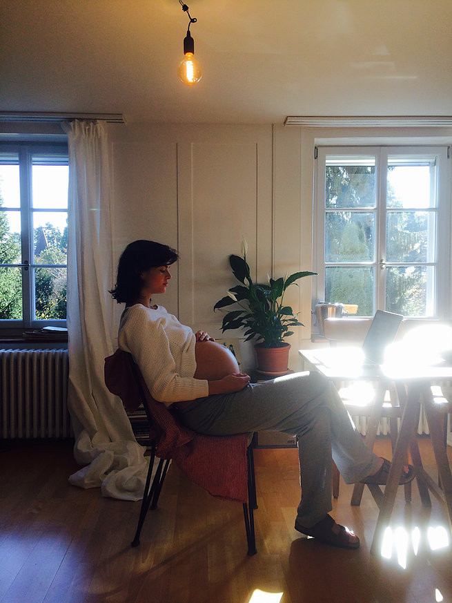 Patricia Schmid pregnant