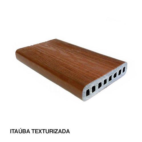 Tábua em Madeira Plástica Com e Sem Textura 136x30x3000mm.