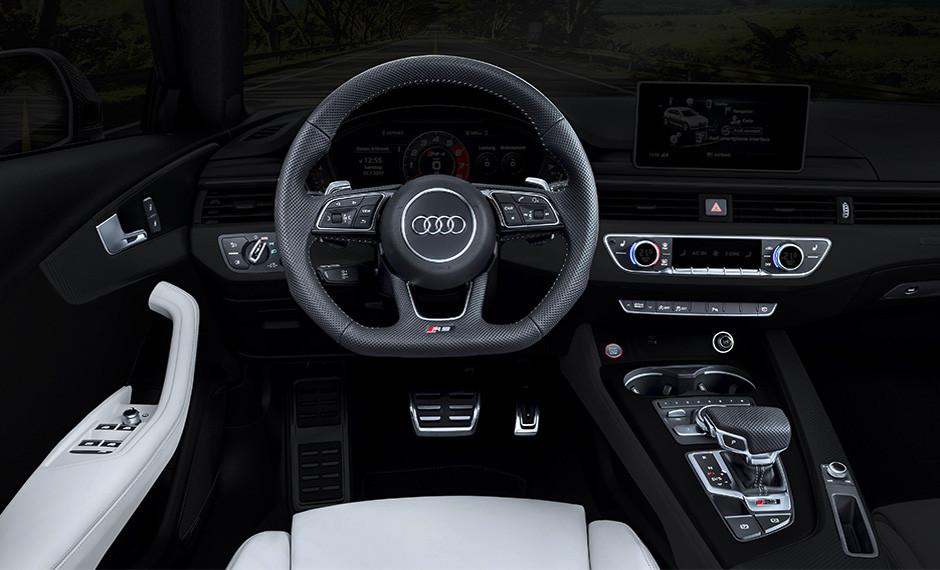 Audi RS 4 | UI (Interface do Usuário)