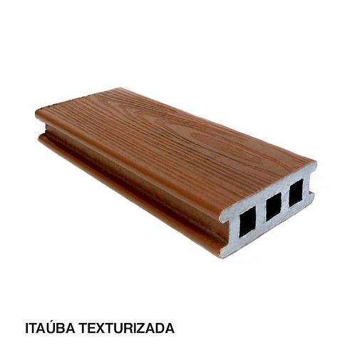 Deck em Madeira Plástica Com Textura 90x32x3000mm.