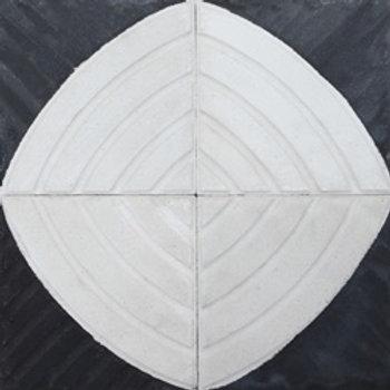 Ladrilho Hidráulico Sorocaba P/B | 20x20cm