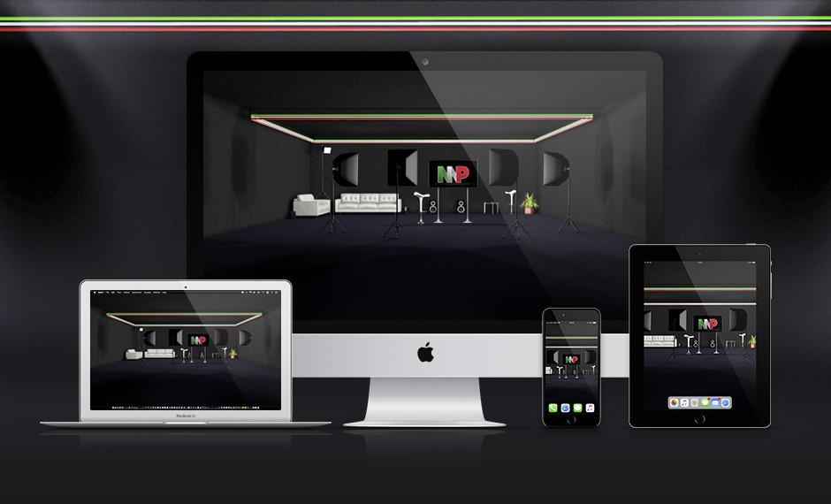 Desktop & Home Screen | MP Studio