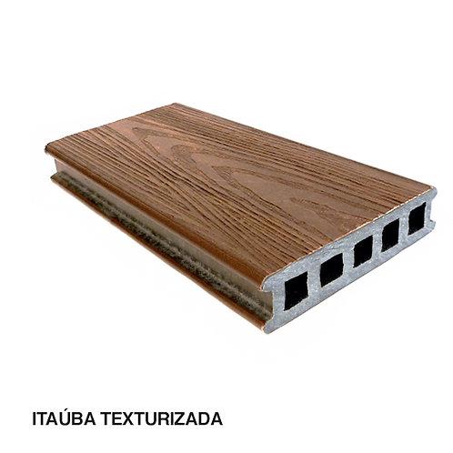Deck em Madeira Plástica Com Textura 150x32x3000mm.