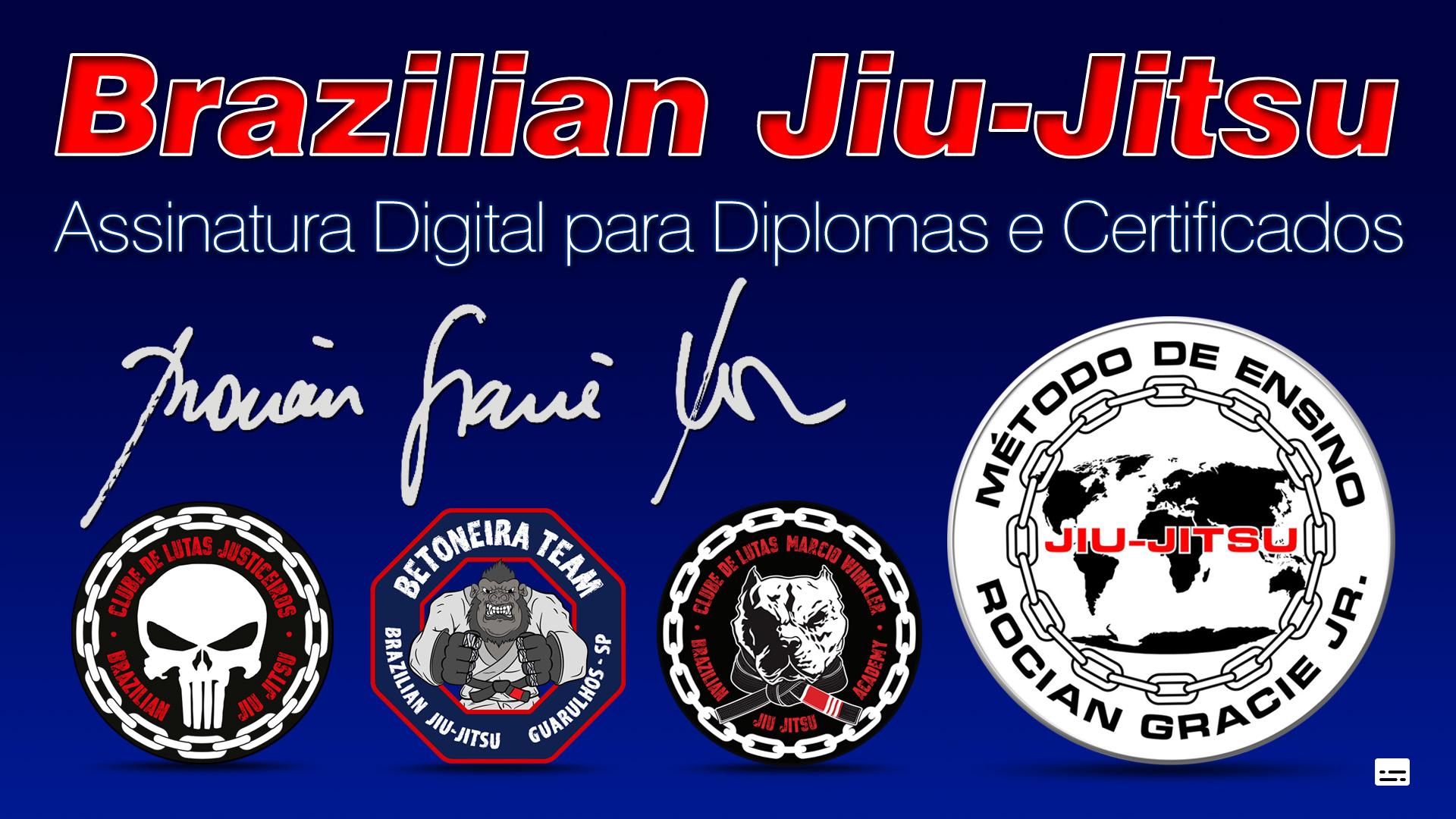 Assinatura Digital para Diplomas e Certificados