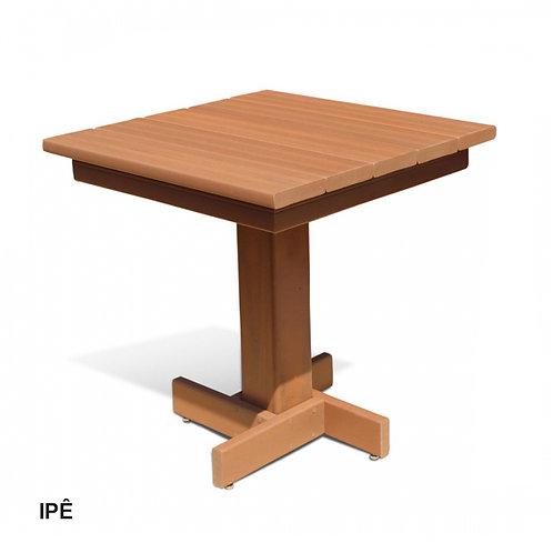 Mesa de Bar em Madeira Plástica 68x68cm.