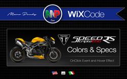 Triumph Colors & Specs | Wix Code