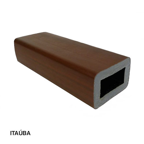 Coluna em Madeira Plástica 90x60x3000mm.