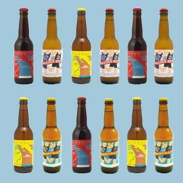 Mikkeller kassen 12 flasker