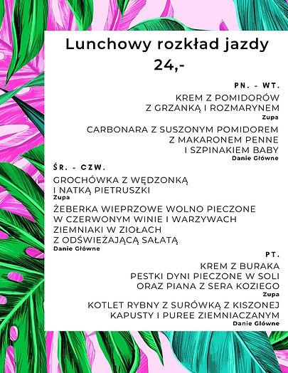 Lunch Bielany! Lunch restauracja Lokal's! Zapraszamy!