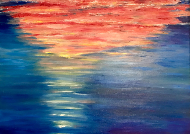 Mom's Favorite Sunset Colors - SOLD