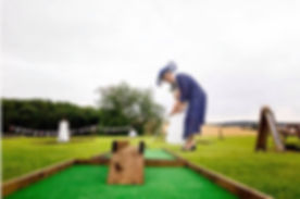 mini golf hire
