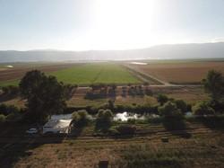 הנוף המרהיב בנהר הירדן