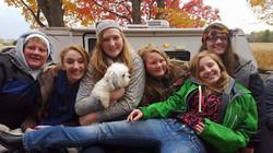 Church camp ladies