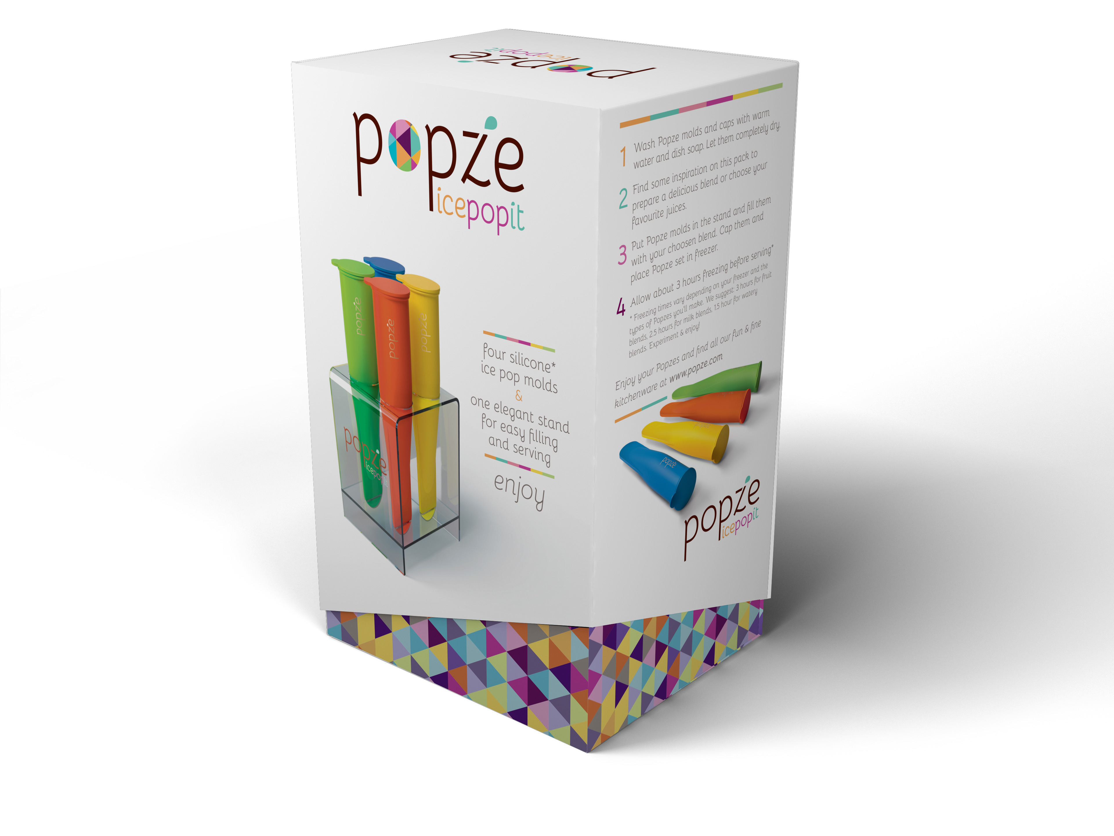 Popze beautiful packaging
