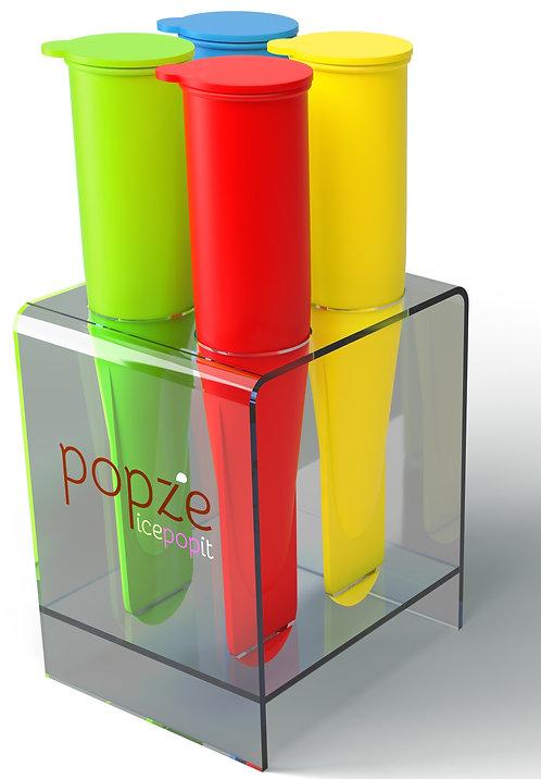 Popze IcePopIt 4 Dessert Molds