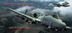 Flying the A10 USAF