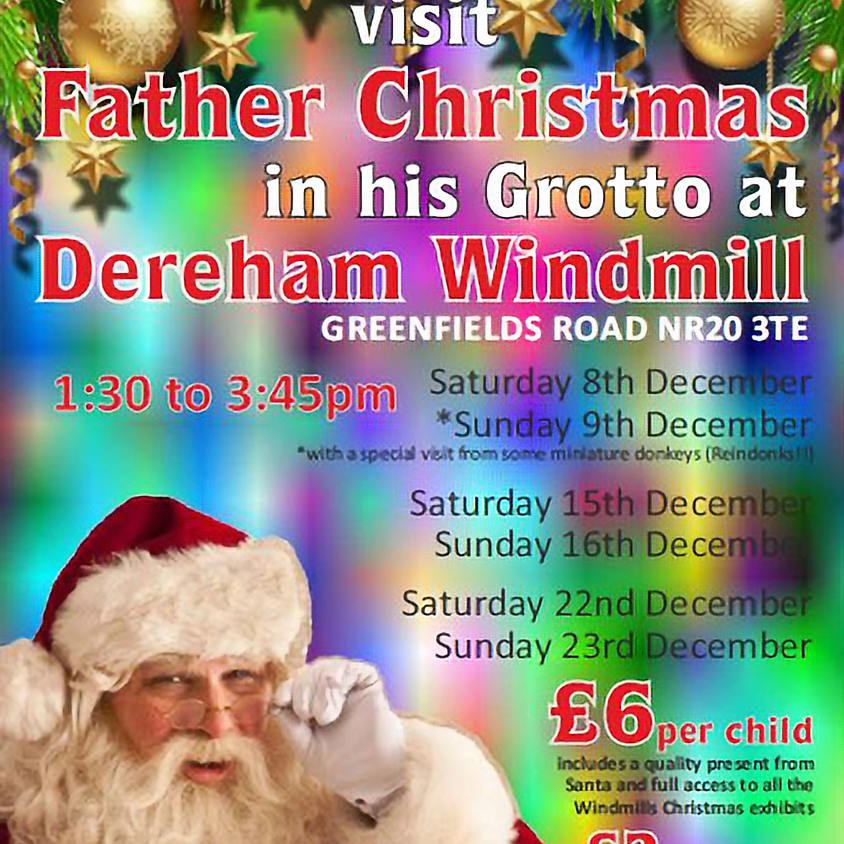 Visit Father Christmas in his Grotto
